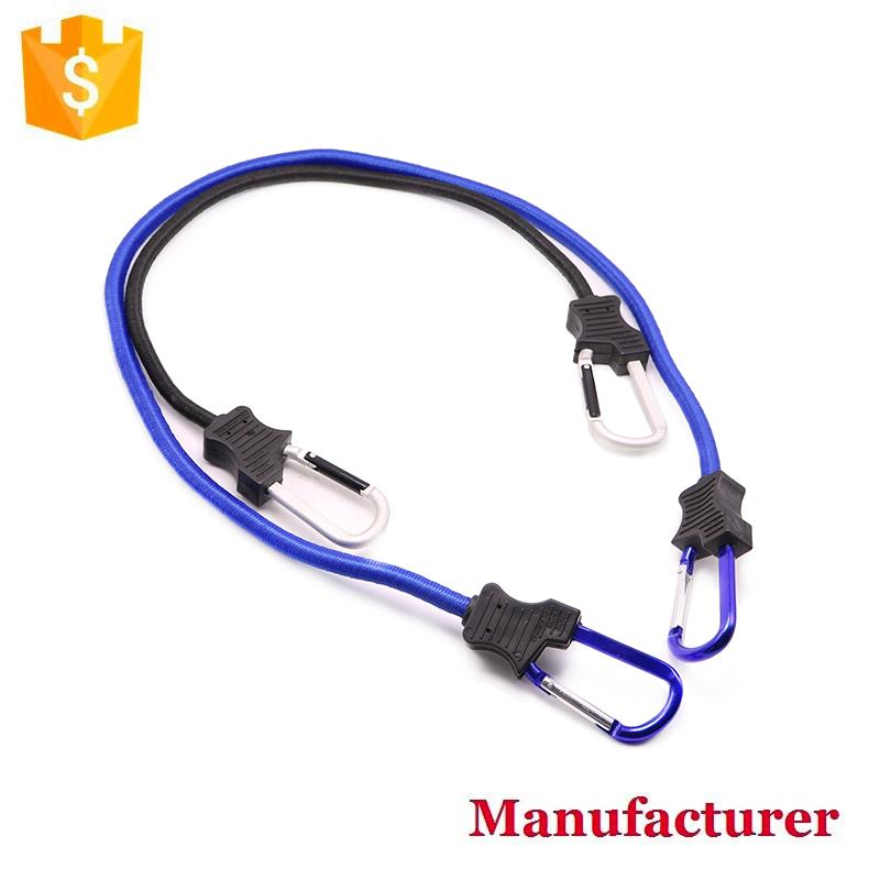 Elastic Luggage Strap Bungee Cord Rope Hooks Stretch Tie for Bike Camping